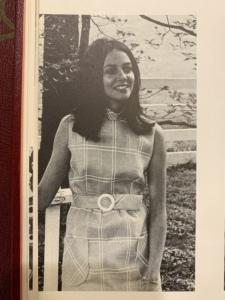 Marijane McQueary, The Crimson, 1970.