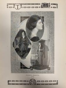 Elizabeth Pinkerton, The Crimson, 1920.